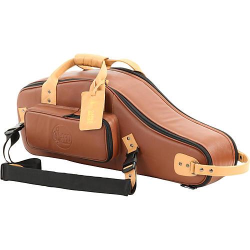 Gard Designer Leather Alto Saxophone European Model Gig Bag Brown Black
