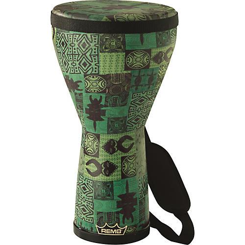 Remo Designer Series Festival Djembe Green Kinte 8X14
