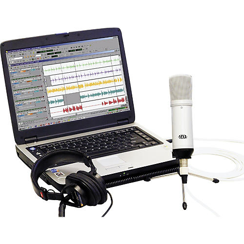 MXL Desktop Recording Kit White PC