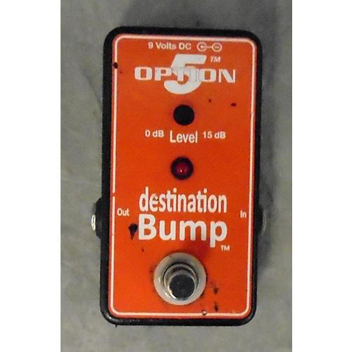 Option 5 Destination Bump Boost Effect Pedal-thumbnail