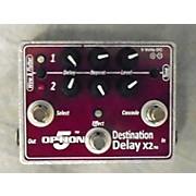 Option 5 Destination Delay X2 Effect Pedal