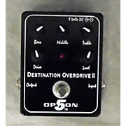 Option 5 Destination Overdrive II Effect Pedal