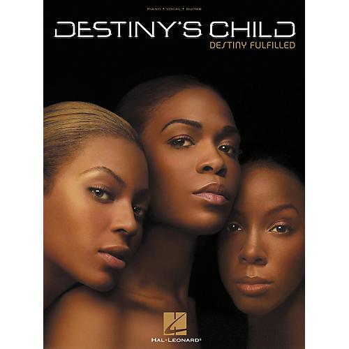 Hal Leonard Destiny's Child - Destiny Fulfilled Piano/Vocal/Guitar Artist Songbook-thumbnail