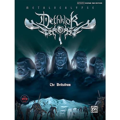 Alfred Dethklok - Dethalbum Guitar Tab (Book/DVD)-thumbnail