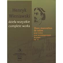 PWM Deux Mazourkas de salon, Op. 12 (Henryk Wieniawski Complete Works Series A, Vol. 18) PWM Series Softcover