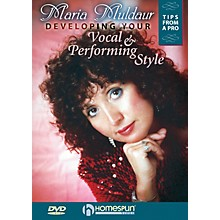 Homespun Developing Your Vocal and Performing Style Homespun Tapes Series DVD Performed by Maria Muldaur