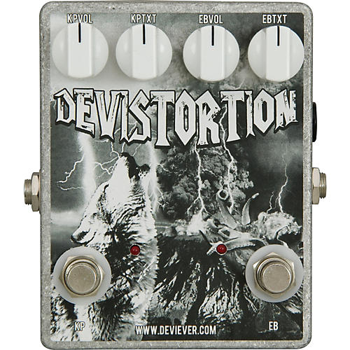 Devi Ever Devistortion Overdrive Guitar Effects Pedal-thumbnail