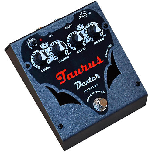 Taurus Dexter Silver Line Octave Effects Pedal