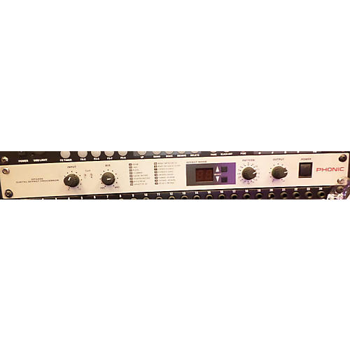 Phonic Dfx 256 Multi Effects Processor