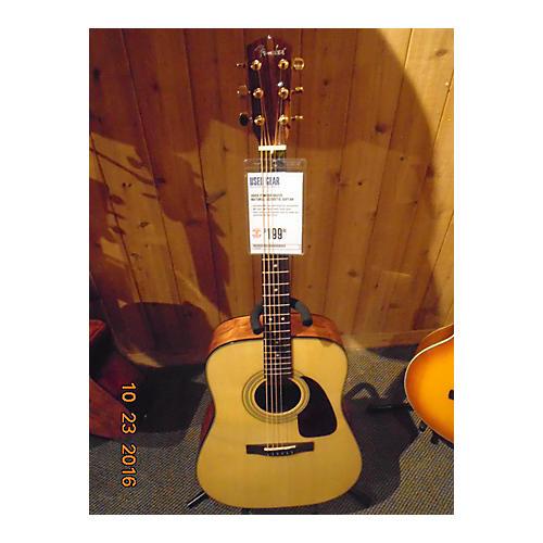 Fender Dg22s Acoustic Guitar Natural