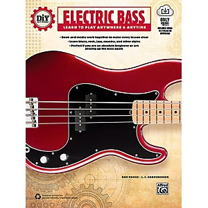 Alfred DiY Do it Yourself Electric Bass - Book and Streaming Video