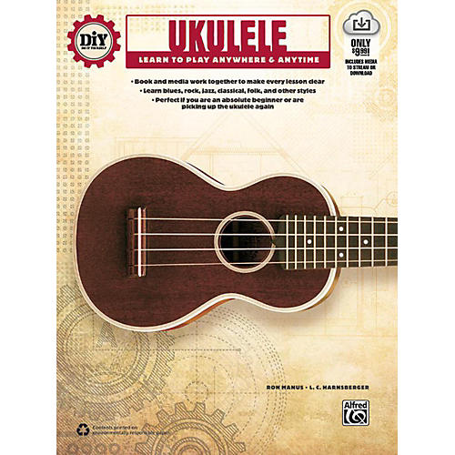 Alfred DiY (Do it Yourself) Ukulele Book & Streaming Video
