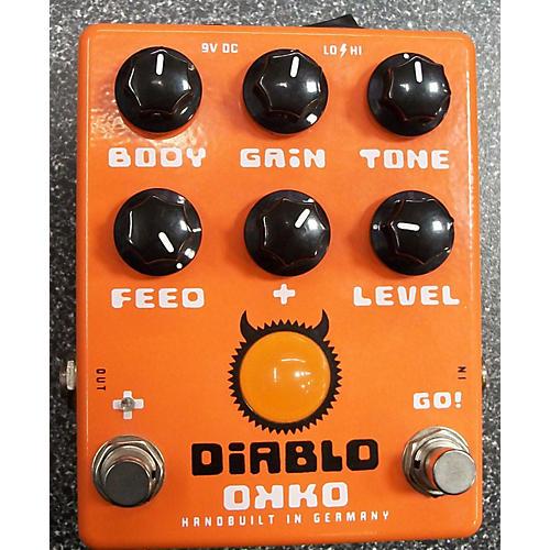 In Store Used Diablo Effect Pedal Orange-thumbnail