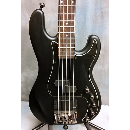 Schecter Guitar Research Diamond-P Custom Active 5 String Electric Bass Guitar-thumbnail