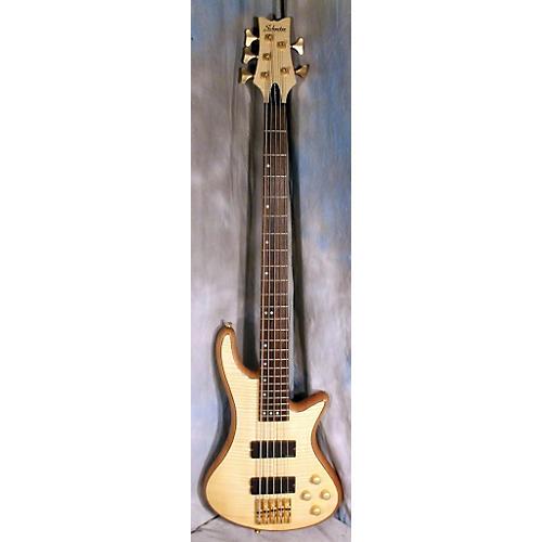 Schecter Guitar Research Diamond Passive Custom Active 5 String Electric Bass Guitar-thumbnail