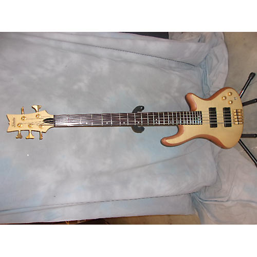 Schecter Guitar Research Diamond Passive Custom Active 5 String Electric Bass Guitar-thumbnail