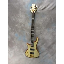 Schecter Guitar Research Diamond Passive Custom Active 5 String Left Handed Electric Bass Guitar