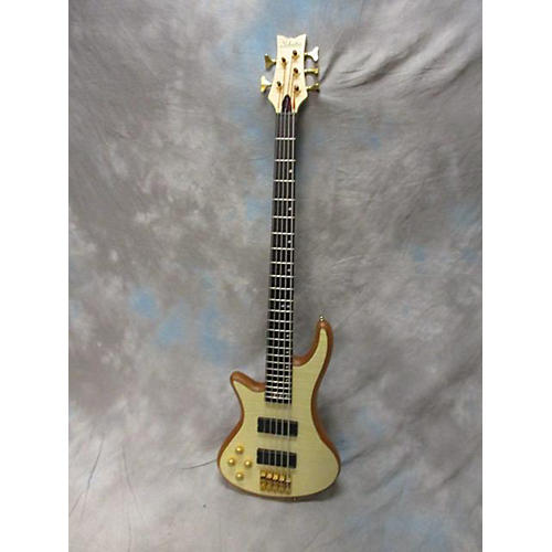 Schecter Guitar Research Diamond Passive Custom Active 5 String Left Handed Electric Bass Guitar-thumbnail