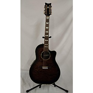 Pre-owned Schecter Guitar Research Diamond Series 12 String 12 String Acoustic E...