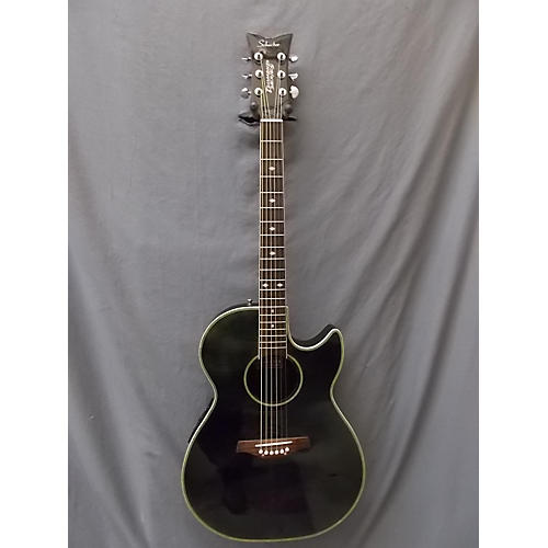 Schecter Guitar Research Diamond Series Acoustic Acoustic Electric Guitar-thumbnail