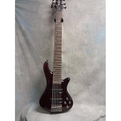Schecter Guitar Research Diamond Series Gryphon-6 Electric Bass Guitar-thumbnail