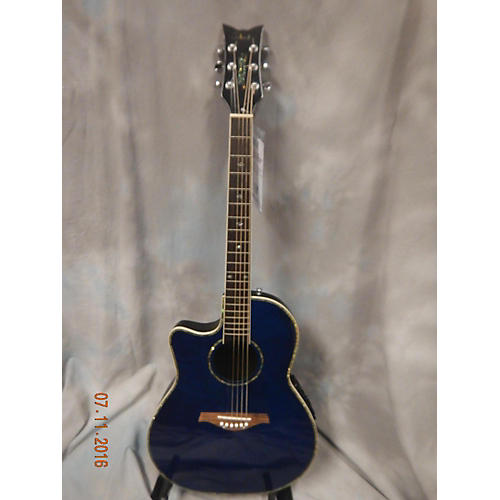 Schecter Guitar Research Diamond Series Left Handed Acoustic Electric Guitar-thumbnail