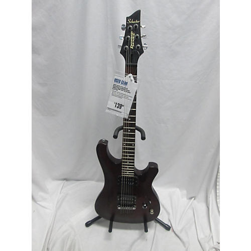 used schecter guitar research diamond series omen 6 solid body electric guitar guitar center. Black Bedroom Furniture Sets. Home Design Ideas