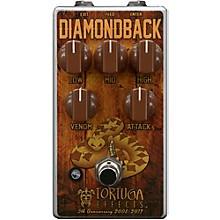 Tortuga Diamondback British Drive Guitar Overdrive Effects Pedal