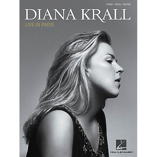 Hal Leonard Diana Krall - Live in Paris Piano/Vocal/Guitar Artist Songbook-thumbnail