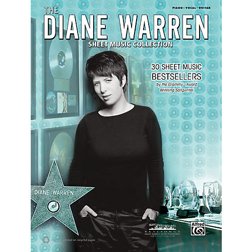 Alfred Diane Warren - Sheet Music Collection Book-thumbnail