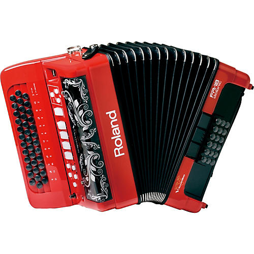 Roland Diatonic V-Accordion Red