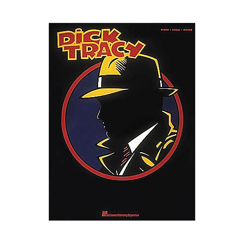 Hal Leonard Dick Tracy Piano/Vocal/Guitar Songbook