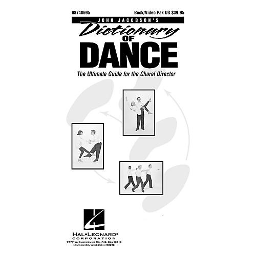 Hal Leonard Dictionary Of Dance - The Ultimate Guide for the Choral Director (Book/DVD)-thumbnail