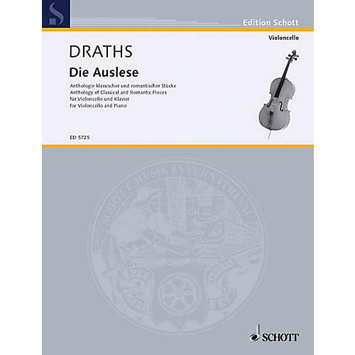 Schott Die Auslese (Anthology of Classical and Romantic Pieces) Schott Series Softcover