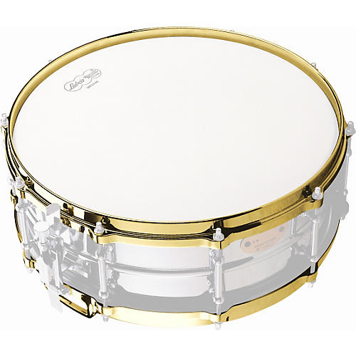 Ludwig Die-Cast Snare Drum Hoop Bottom Brass 14 Inches