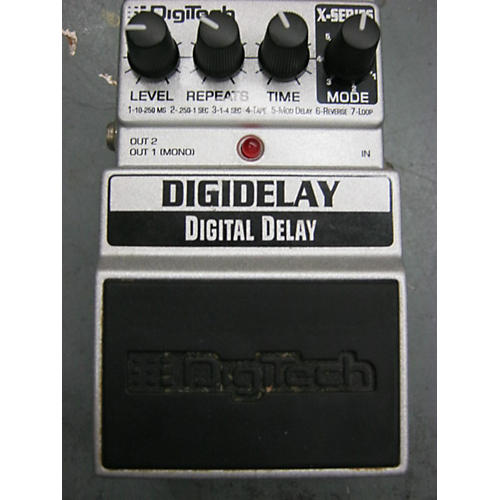 Digitech DigiDelay Black And Silver Effect Pedal-thumbnail