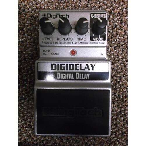 Digitech DigiDelay Silver Effect Pedal Silver-thumbnail