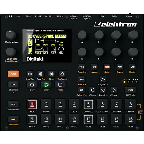 Elektron Digitakt 8-Voice Digital Drum Computer and Sampler-thumbnail