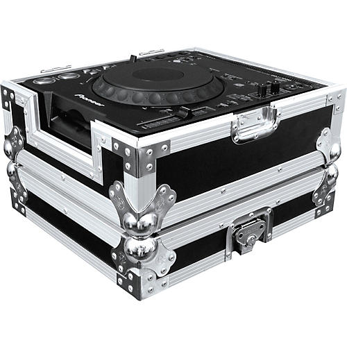Road Ready Digital Turntable Case with Front Access Door Black