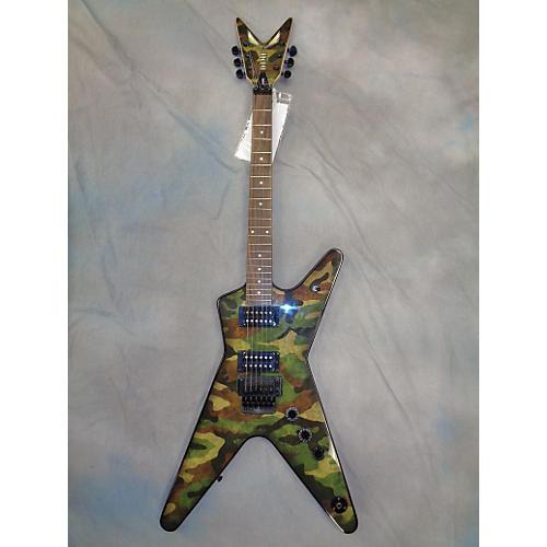 Dean Dime Camo Camo Electric Guitar
