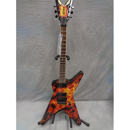 Dean Dime-O-Flame Solid Body Electric Guitar-thumbnail