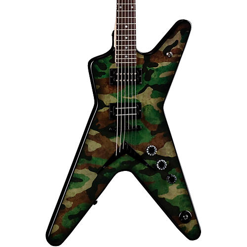 Dean Dimebag Dime Camo ML Electric Guitar-thumbnail
