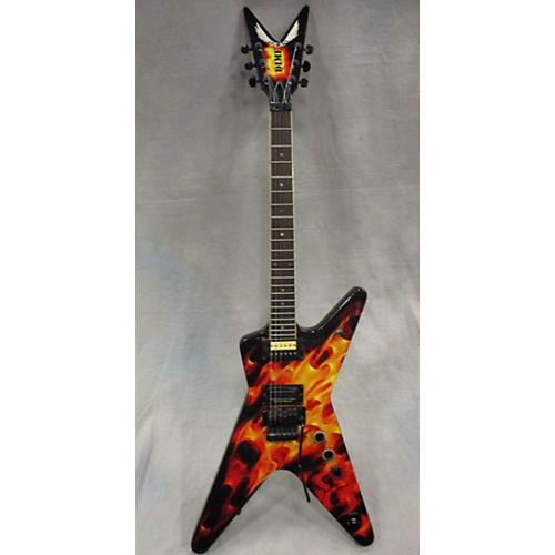 Dean Dimebag Dime O Flame Solid Body Electric Guitar