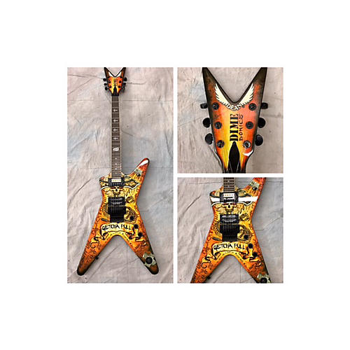 Dean Dimebag Dimebonics ML Solid Body Electric Guitar Graphics-thumbnail