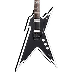 Dimebag Razorback DB Electric Guitar with Floyd Rose Bridge Black and White
