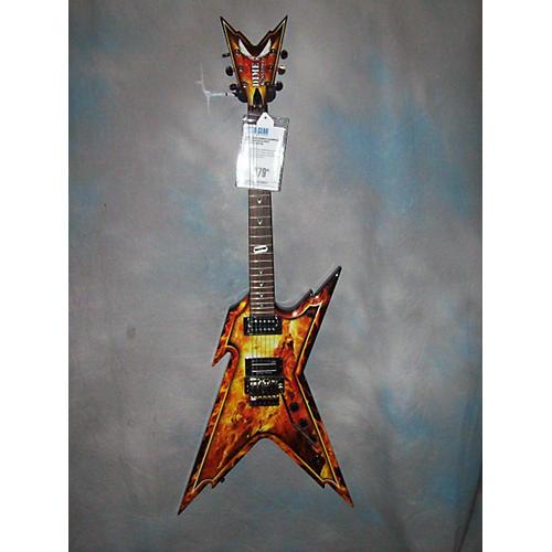 Dean Dimebag Razorback Explosion Solid Body Electric Guitar-thumbnail
