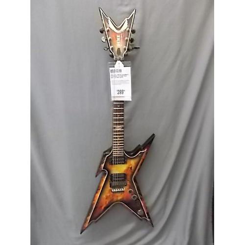 Dean Dimebag Razorback Floyd Rose Solid Body Electric Guitar Explosion