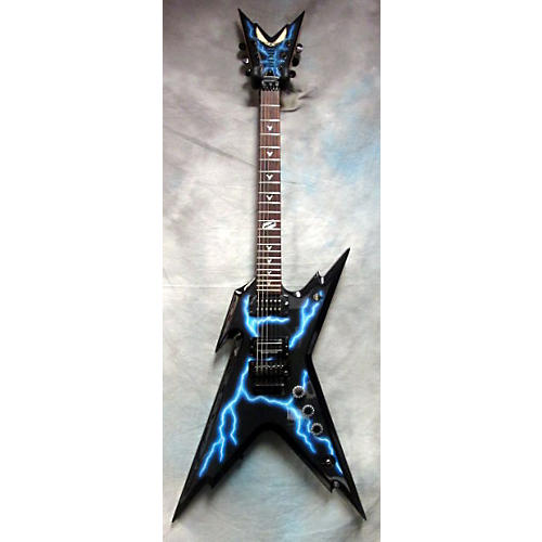 Dimebag Razorback Lightning Solid Body Electric Guitar ...Dimebag Darrell Lightning Guitar