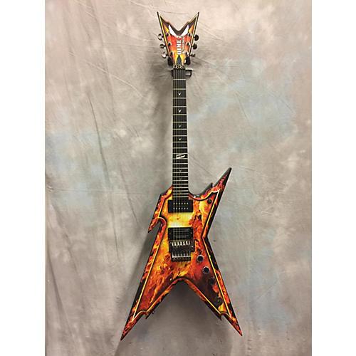 Dean Dimebag Razorback Solid Body Electric Guitar EXPLOSION