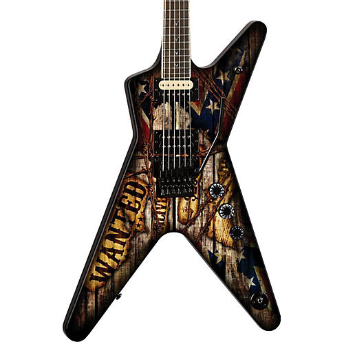 Dean Dimebag Wanted ML Electric Guitar Graphic